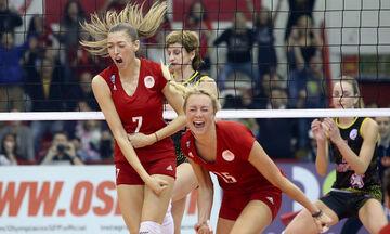 Volley League γυναικών: Πρωταθλητής ο Ολυμπιακός, σπάει το σερί του Παναθηναϊκού