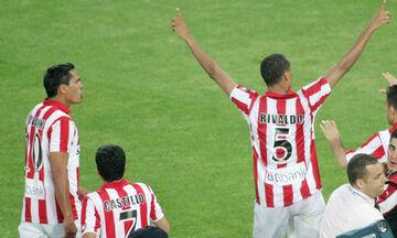 Ολυμπιακός - Άρης 3-0: Το 21ο Κύπελλο στην Πάτρα με το «γκολ του αιώνα» από τον Ριβάλντο (vid)