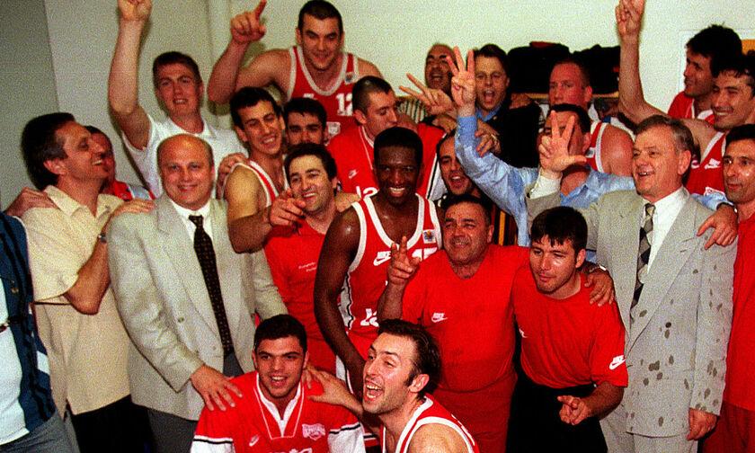 Όταν ο Ολυμπιακός «τελείωσε» την ΑΕΚ στο ΟΑΚΑ και κατέκτησε το ιστορικό «τρεμπλ» το 1997