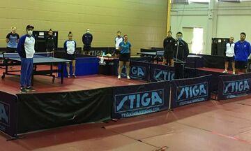 Oι ειδικές συνθήκες προπόνησης της προολυμπιακής ομάδας επιτραπέζιας αντισφαίρισης