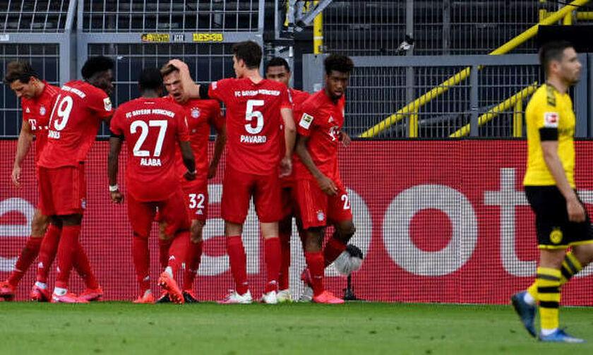 Ντόρτμουντ-Μπάγερν 0-1: Έβαλε χέρι στη «σαλατιέρα» (Highlights)