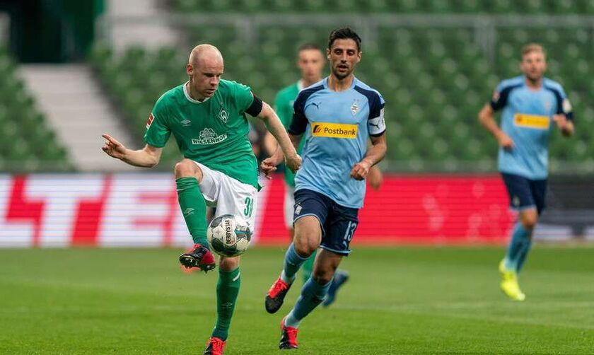 """Βέρντερ Βρέμης - Γκλάντμπαχ 0-0: Πήραν βαθμό σωτηρίας οι """"πράσινοι"""" (vid)"""
