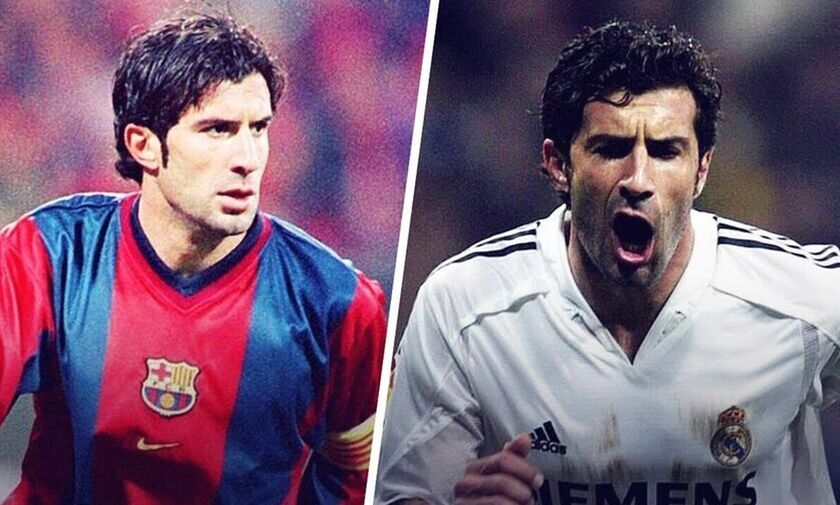 Φίγκο: «Σωστή η απόφασή μου να φύγω από την Μπαρτσελόνα για τη Ρεάλ Μαδρίτης»