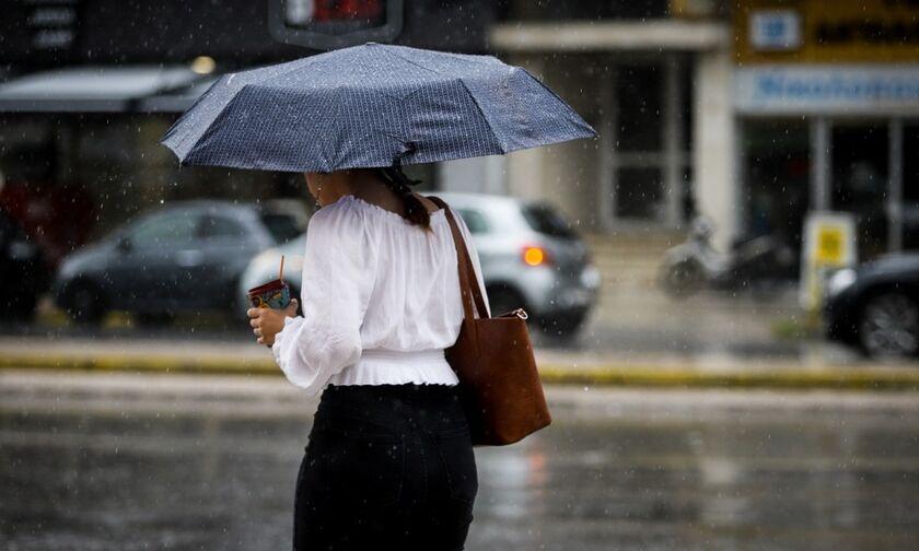 Καιρός: Άστατος με βροχές και καταιγίδες - Θερμοκρασία σε άνοδο