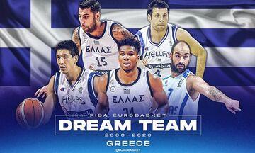 Η υφήλιος ψήφισε: Αυτή είναι η κορυφαία ελληνική πεντάδα μπάσκετ της 20ετίας