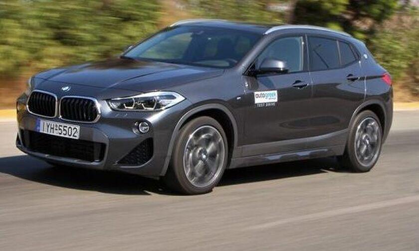 Δοκιμή BMW X2 sDrive16d 1.5 λτ. 116 PS