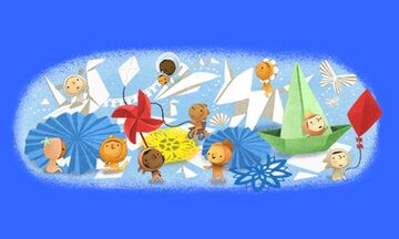 Το σημερινό Google Doodle για την Ημέρα του Παιδιού