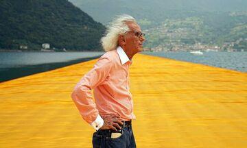 Πέθανε ο καλλιτέχνης Christo (pic)