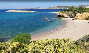 Φως στην Ελλάδα:Ποια είναι η εντυπωσιακή  παραλία Σκαλάκια που βρίσκεται στην Αττική