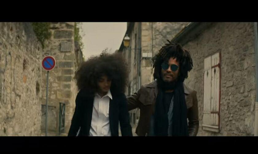 Το νέο κλιπ του Lenny Kravitz είναι γυρισμένο στη Γαλλία (vid)