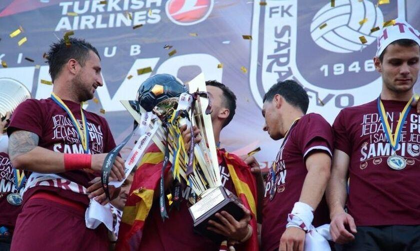Τέλος το πρωτάθλημα Βοσνίας, πρωταθλήτρια η Σαράγεβο
