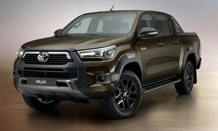 Νέο Toyota Hilux με 204 ίππους και πολυτέλεια