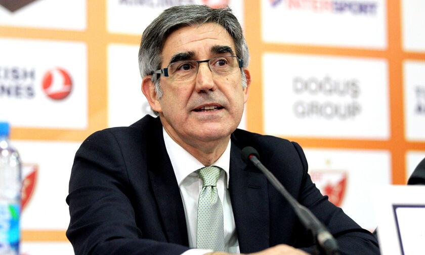 """Μπερτομέου: «Οι ομάδες γίνονται """"μικρότερες"""" στη FIBA, θα μείνει ο Παναθηναϊκός»"""