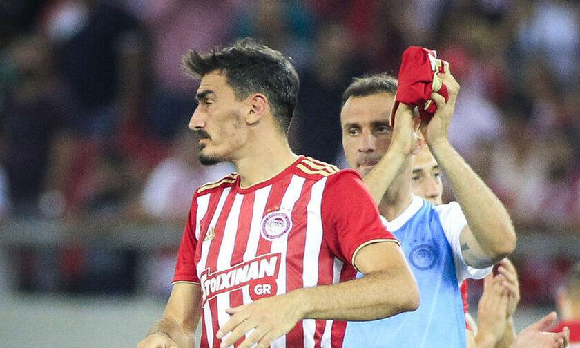 Ολυμπιακός: Κάκωση έσω πλαγίου συνδέσμου δεξιού γόνατος ο Χριστοδουλόπουλος!