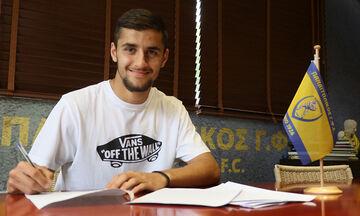 Παναιτωλικός: Επαγγελματικό συμβόλαιο ο Κωνσταντόπουλος