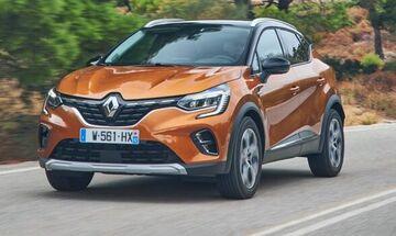 Νέο Renault Captur βενζίνη, diesel, LPG, από 16.880€