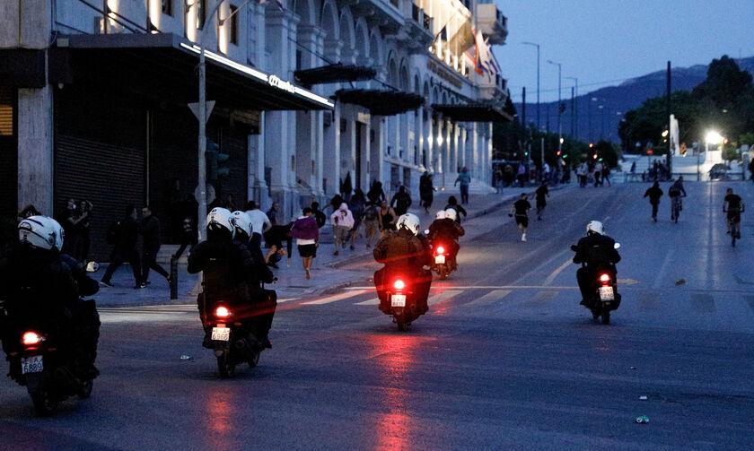 Επεισόδια στο κέντρο της Αθήνας (pics)