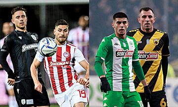 Super League 1: Η πιο μεγάλη ώρα σε Τούμπα και ΟΑΚΑ!