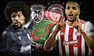 LIVE: ΠΑΟΚ - Ολυμπιακός 0-1 (Τελικό)