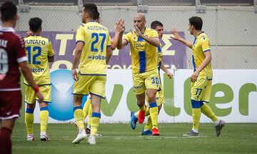 ΑΕΛ - Αστέρας Τρίπολης 1-2: Πάτησε την κορυφή των πλέι άουτ με γκολ ποίημα (vid)