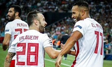 Ελ Αραμπί και Βαλμπουενά γράφουν ιστορία για τον Ολυμπιακό στη Super League! (πίνακες)