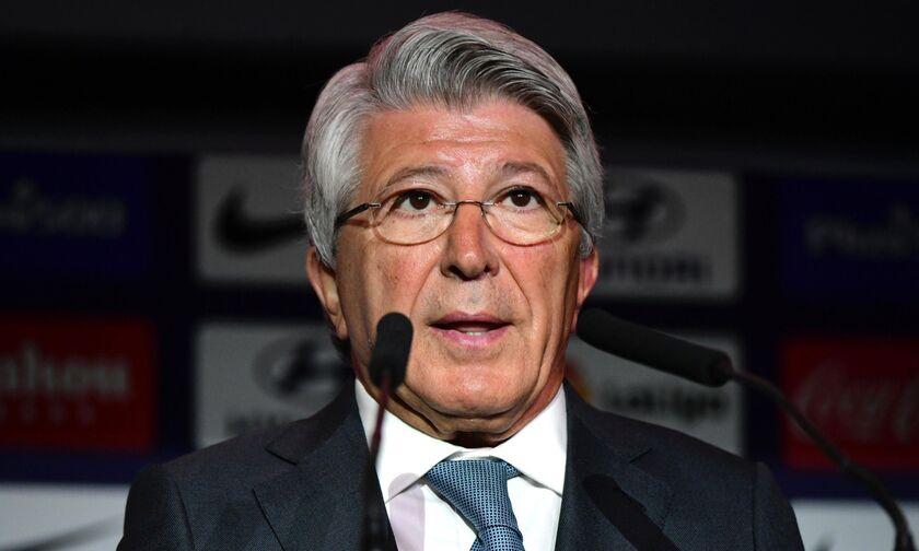 Πρόεδρος της Ατλέτικο: «Να πάρουμε το Champions League, γιατί αποκλείσαμε τη Λίβερπουλ»