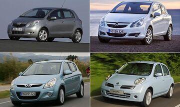 Μεταχειρισμένα αυτοκίνητα με 5.000 ευρώ