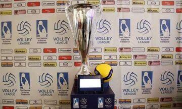 Volley League Ανδρών: Ορίστηκαν τα πλέι οφ, στις 30 Ιουνίου το Ολυμπιακός - Φοίνικας