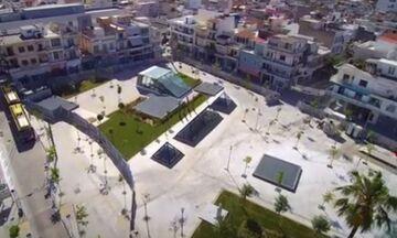 Έτοιμη η πλατεία Αγίου Νικολάου Νίκαιας - Αγ. Ι. Ρέντη - «Η οροφή του ΜΕΤΡO» - Δείτε το βίντεο