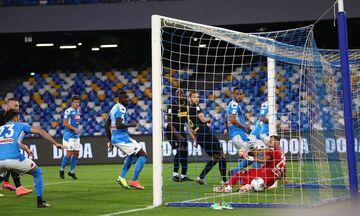 Νάπολι - Ίντερ 1-1: Στον τελικό οι «παρτενοπέι» με ιστορικό ρεκόρ Μέρτενς!