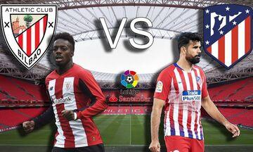 Μπιλμπάο – Ατλέτικο Μαδρίτης: Δύο γκολ σε ένα δίλεπτο για το 1-1 (vid)