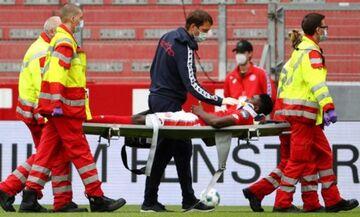 Μάιντς: Ο σοβαρός τραυματισμός του Αβονίγι στο ματς με την Άουγκσμπουργκ (vid)