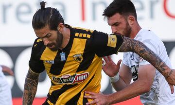 ΟΦΗ - ΑΕΚ: Το γκολ του Λιβάγια για το 0-1 (vid)