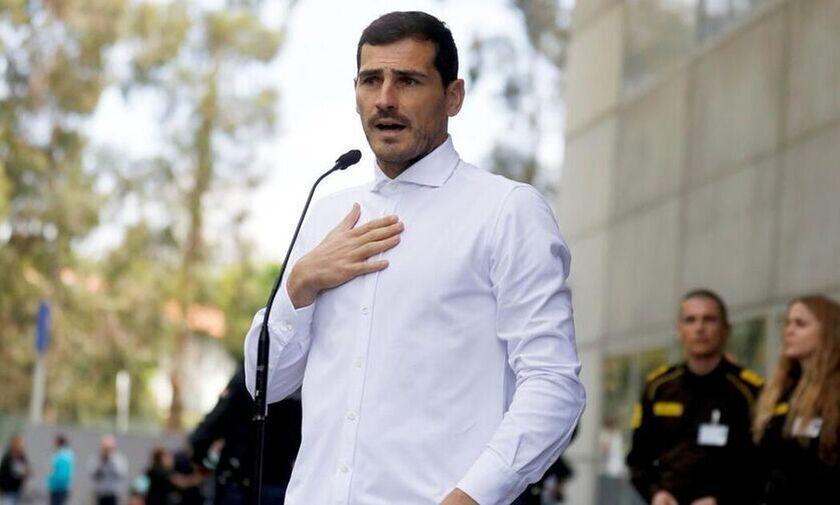 Ίκερ Κασίγιας: Απέσυρε την υποφηφιότητά του για την προεδρία της Ισπανικής Ομοσπονδίας