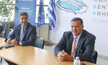 ΕΟΕ: Συναντήθηκαν Καπράλος και Αυγενάκης