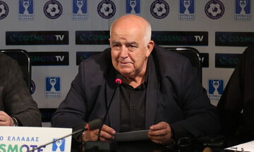 Γαβριηλίδης: «Τελικός Κυπέλλου Ελλάδος με κόσμο...»