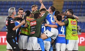 Κύπελλο Ιταλίας: Το σήκωσε η Νάπολι, 4-2 τη Γιουβέντους στα πέναλτι (vids)