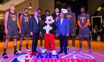 Το ΝΒΑ πάει Disney και… ιδού τα νέα σήματα των ομάδων (pics)