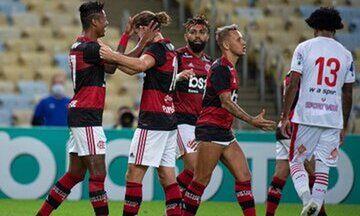Βραζιλία: Η Φλαμένγκο 3-0 την Μπάνγκου στην επανέναρξη του πρωταθλήματος (pic, vid)