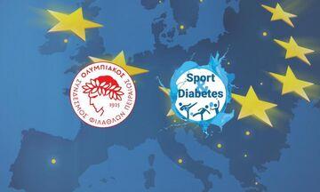 Ολυμπιακός: Η τηλεδιάσκεψη του προγράμματος «Sports and Diabetes»