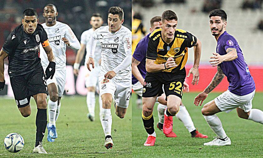 Super League 1: Κρίσιμα ματς σε Τούμπα και ΟΑΚΑ