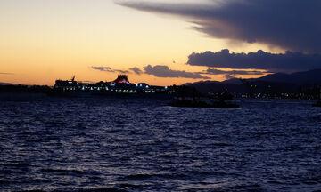 Μαγευτικό ηλιοβασίλεμα στην Πειραϊκή (pics)