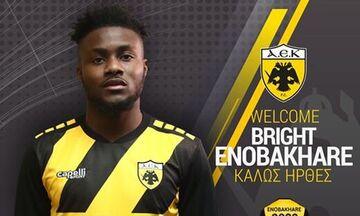 Eπίσημο: Παίκτης της ΑΕΚ ο Ενομπακάρε (pic)