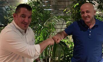 Άρση Βαρών: Συνάντηση Πύρρου Δήμα με Ανδρέα Ρουμπά για τη συνδιοργάνωση αγώνων με την Κύπρο!