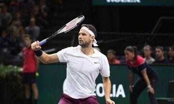 Τένις: Θετικός στον κορονοϊό ο Ντιμιτρόφ