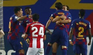 La Liga: Κορυφή η Μπαρτσελόνα - Με λυτρωτή τον Ράκιτιτς 1-0 την Μπιλμπάο (highlights - βαθμολογία)