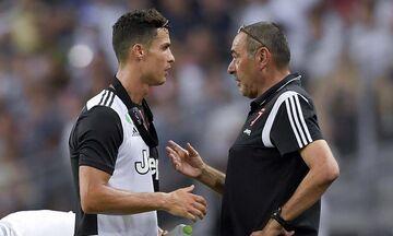 Σάρι: «Ο Ρονάλντο δεν βρίσκεται στην καλύτερη φυσική κατάσταση»