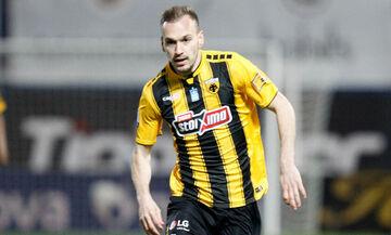 AEK: Στην αποστολή ο Μπακάκης για το ματς με τον Άρη στο Κύπελλο (pic)