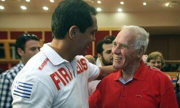 Το «αντίο» του Τζιοβάνι στον Νίκο Αλέφαντο: «Μεγάλος προπονητής»!
