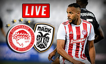 LIVE: Ολυμπιακός - ΠΑΟΚ (21:30)